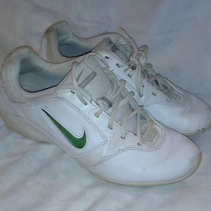 Nike Sideline 2 White Cheer Shoes size 8 women's